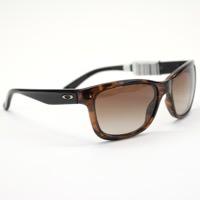 Oakley Forehand Tortoise and Black w/ Dark Brown Gradient Lens 9179-06