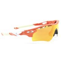 Oakley Radarlock Path Blood Orange w/ Fire Iridium Polarized Lens 9181-08