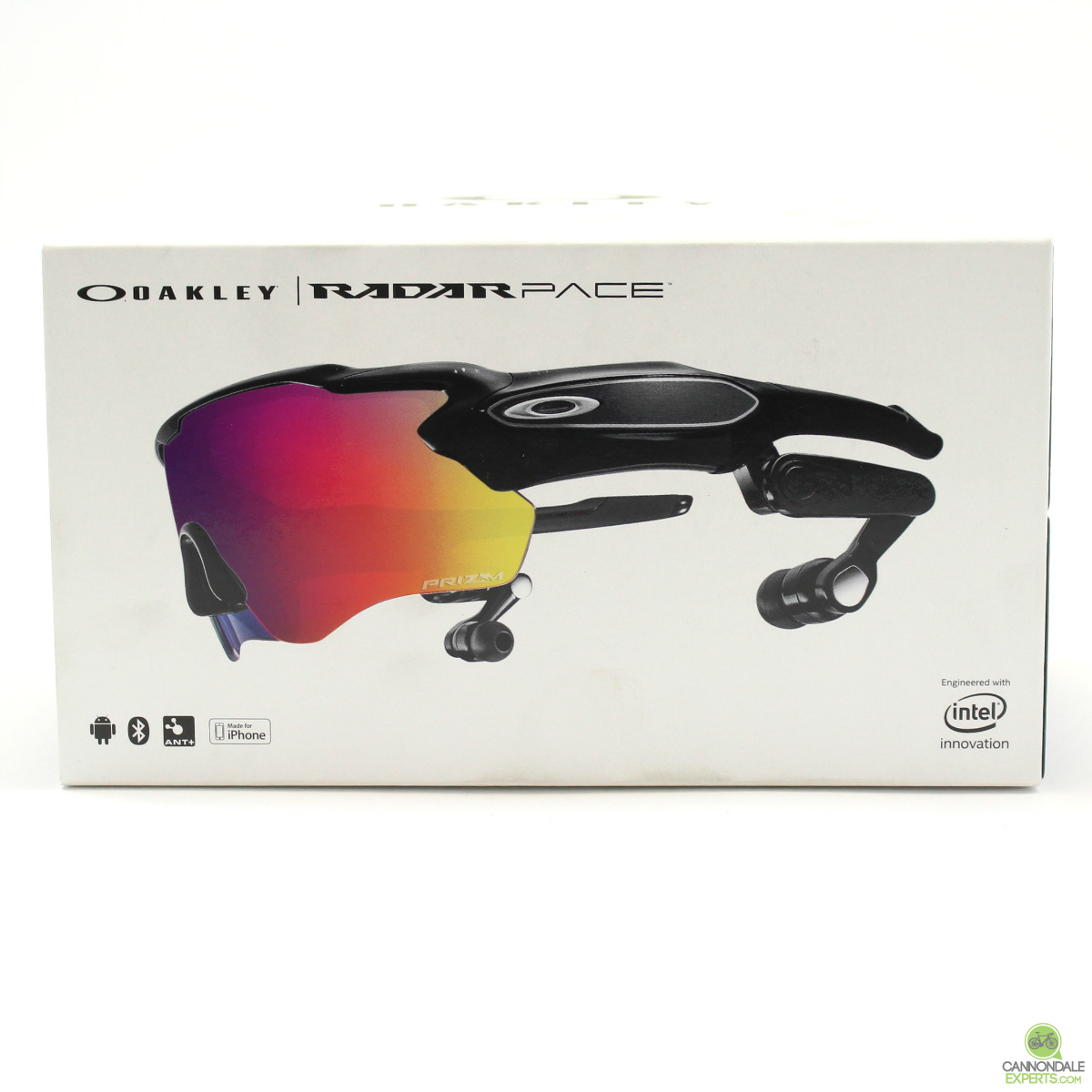 c9b447080cb4 Details about Oakley Radar Pace Polished Black w  Prizm Road and Clear  Lenses 93137