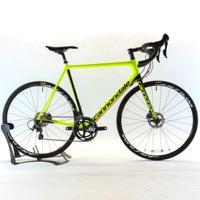 Cannondale 2017 SuperSix EVO Carbon Disc Ultegra Size 58cm Volt Yellow Road Bike