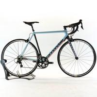 Cannondale 2017 SuperSix EVO Carbon 105 Size 56cm Blue w/ Black/Red Road Bike