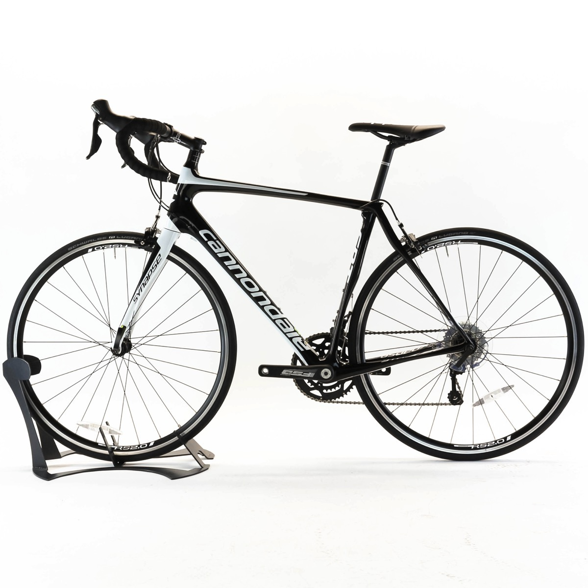cannondale  synapse carbon tiagra size cm bbq black road bike