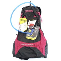 Camelbak Spark 10 LR Pirate Black/Cerise Magenta 70 oz Hydration Pack