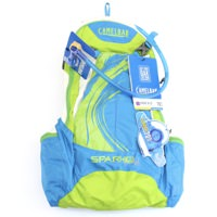 Camelbak Spark 10 LR Blue Jewel/Chartreuse 70 oz Hydration Pack