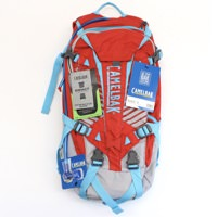 Camelbak KUDU 12 Fiery Red/Silver 100 oz Hydration Pack