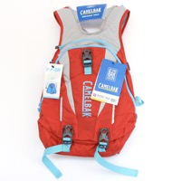 Camelbak Solstice 10 LR Fiery Red/Silver 100 oz Hydration Pack