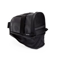 Fabric Contain Bicycle Saddle Seat Bag Black Large FP1108U10LG