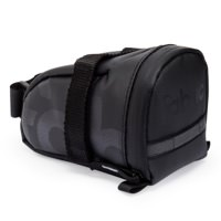 Fabric Contain Bicycle Saddle Bag Black Medium FP1108U10MD