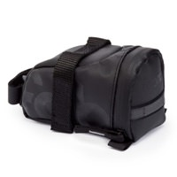 Fabric Contain Bicycle Saddle Bag Black Small FP1108U10SM