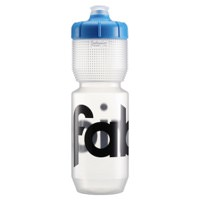 Fabric Gripper Cycling Water Bottle 750ml Clear w/ Blue Lid FP5108U0275