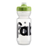 Fabric Gripper Cycling Water Bottle 600ml Clear w/ Green Lid FP5108U0360