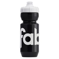 Fabric Gripper Insulated Cycling Water Bottle 550ml Black + White FP5309U4055