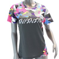 Infinite Cycles Shardnado Freestyle Mountain Cycling Jersey Womens