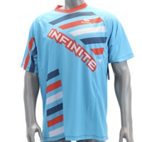 Infinite Cycles RWB Freestyle Mountain Cycling Jersey Mens