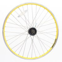 Electra Townie Yellow 3 speed internal 26 inch Rear Wheel - Take off new